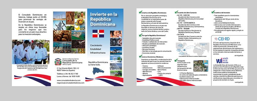 Folleto de Información sobre invertir en la RD - Consulado RD de Valencia