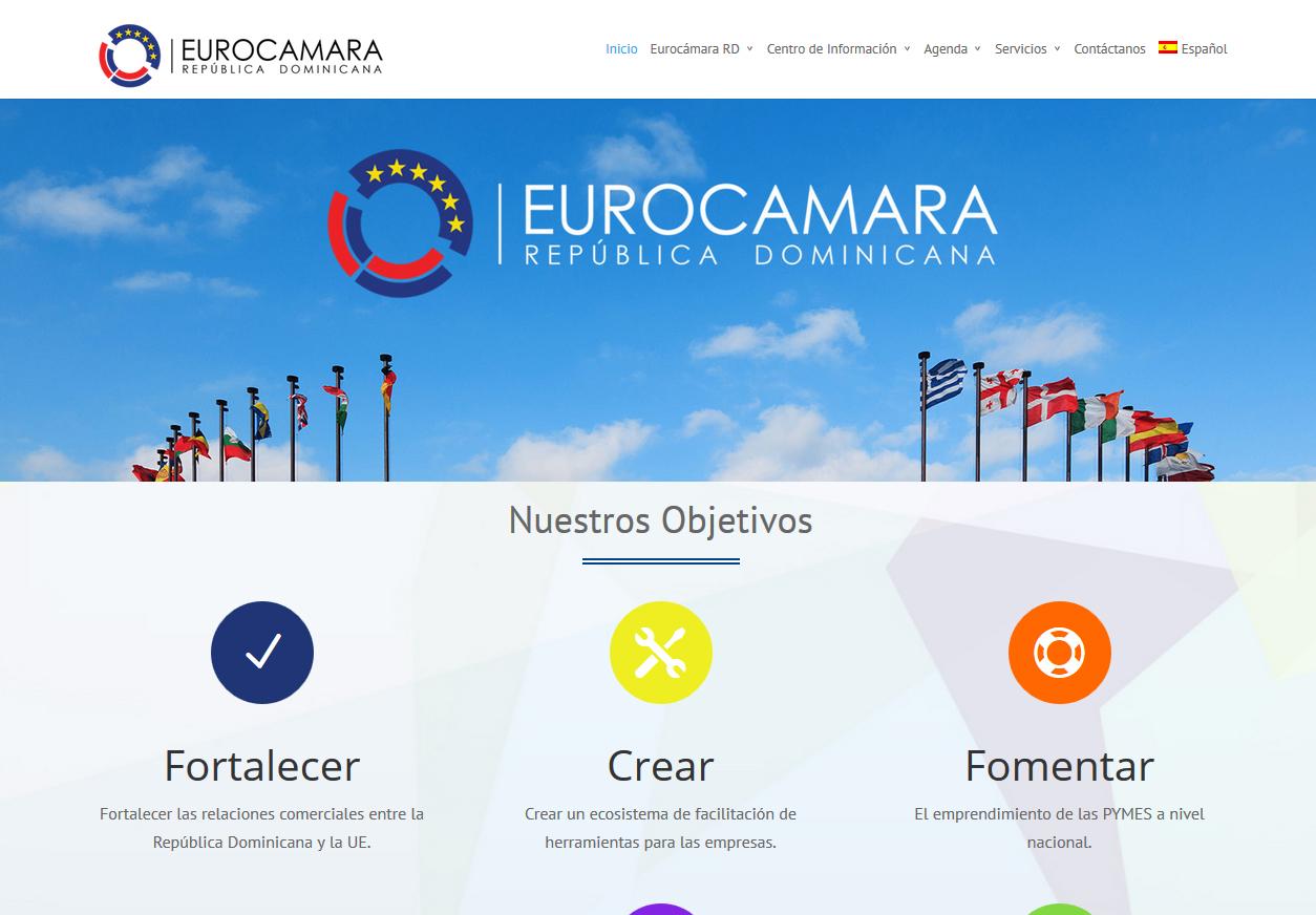 nueva web de la eurocamara-rd